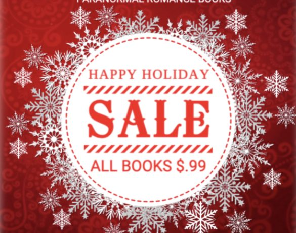 Happy Holidays SALE! All my books $.99!